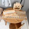 Custom Name Finger Tracing Board made of Wood #RASKLY