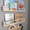 Floating bookshelf for kids, Bookshelves for kids, kids bookshelves, nursery bookshelf, kids bookshelf RASKLY